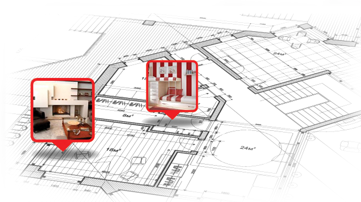 Interactive floor plans for real estate floors doors for Virtual floor plan designer